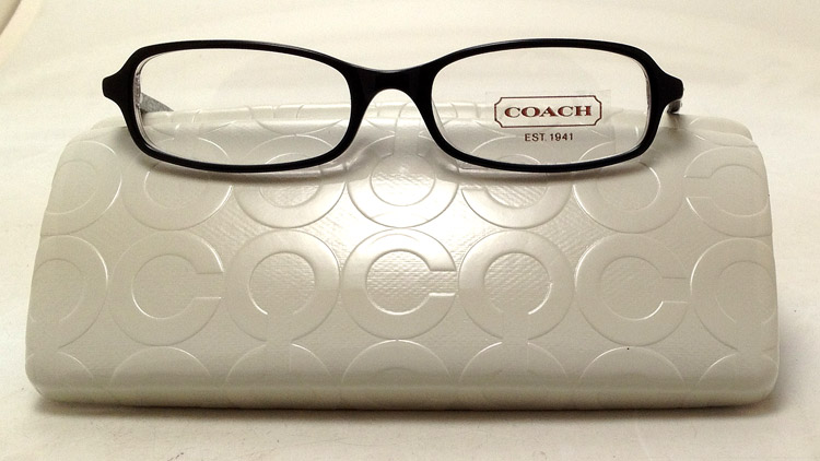 Coach Eyeglass Frames Gianna : NEW Coach Gianna Eyeglasses - Black Plastic Gianna 579 Eye ...