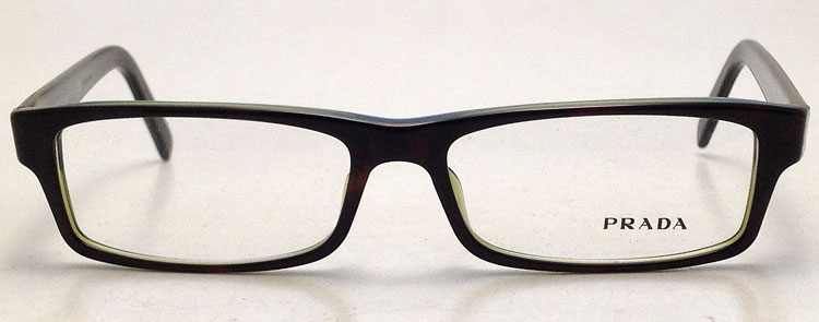 Used Designer Eyeglass Frames : NEW Prada VPR 07E Plastic Eyeglasses Eye Glasses - PR 07E ...