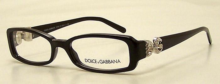 Dolce And Gabbana Thick Frame Glasses : NEW Dolce & Gabbana DG 3059-B Eyeglasses Black Plastic ...
