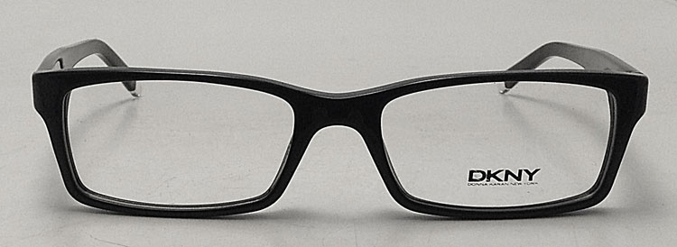 Used Designer Eyeglass Frames : NEW DKNY 4609 Eyeglasses - Black Square Plastic DY4609 Eye ...