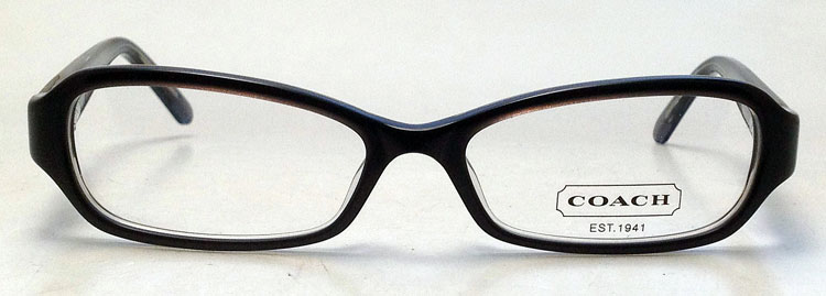 NEW Coach Pilar Eyeglasses - Black Plastic Pilar 2037 Eye ...
