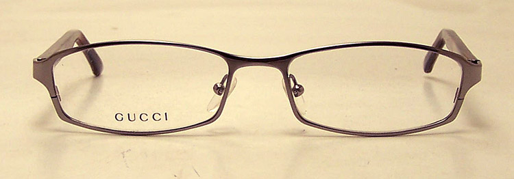 NEW Gucci GG GG 1721 Eyeglasses - Mens Silver Gucci Eye ...