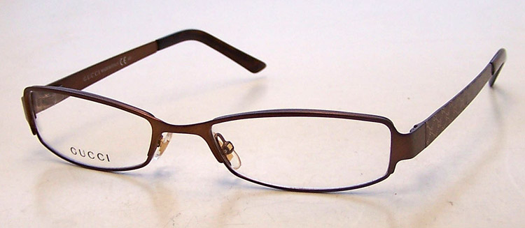 Used Designer Eyeglass Frames : NEW Gucci GG 2867 Womens Brown Eyeglasses Eye Glasses ...